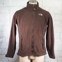 The North Face Fleece Soft Shell Jacket Brown Mens Size XL