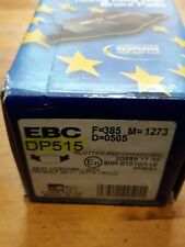 EBC ultimax brake pads DP 515 -VW Golf MK 11/Jetta/Polo- Seat Cordoba/Ibiza