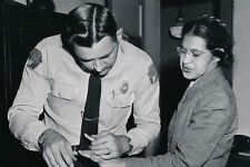 New 5x7 Photo: Civil Rights Champion Rosa Parks Arrested and Fingerprinted 1956