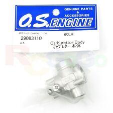 CARBURETTOR BODY 60LH 50SX-H HYPER # OS29083110 **O.S. Engines Genuine Parts**
