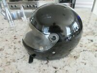 Vintage Bell Roadstar Full Face Motorcycle Helmet Size XL 7 1/2 - 7 5/8  Black