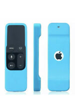 Apple Tv 4th Gen Remote Controller Protective Silicone Case Cover, Blue/Red