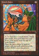 Artifact Fallen Empires Mtg Magic Rare 4x x4 4 PLAYED Conch Horn