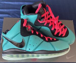 LeBron 8 Retro South Beach Nike (2021) CZ0328-400 Size 10.5