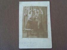 RARE 1910s RPPC POSTCARD GYPSY WOMEN COSTUMES ELIZABETH SOLZ & LIZZIE KENTGERE