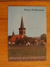 Rheinische Kunststätten Heft 328 1988 Worms-Pfeddersheim