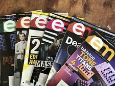 EM Lot Of 7 Back Issue electronic musician magazine Pat Metheny Massive Attack