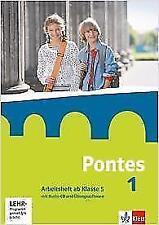 Pontes 1. Arbeitsheft mit Audio-CD und CD-ROM ab Klasse 5 (2014, Geheftet)