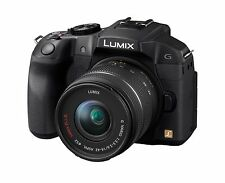 Panasonic DMC-G6KEG-K Systemkamera inkl. 14-42mm Objektiv - DMC G 6 K