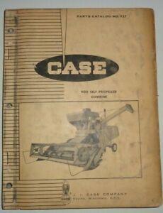 Case Model 900 Self Propelled Combine Parts Catalog Manual Book Original! 5/65