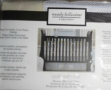 Wendy Bellissimo Walk With Me Print Secure Me Mesh Baby Crib Liner