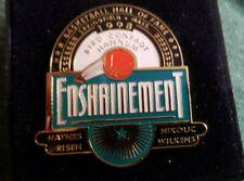 1998 Basketball Hall of Fame Enshrinement Ceremony Pin Larry Bird