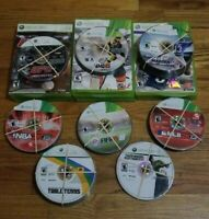 Lot of 114 Xbox 360 Sports Games Baseball Basketball Football Soccer Golf *READ