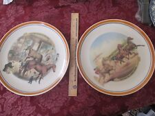 TWO TROTTING FOR A GREAT STAKE PLATES, CURRIER & IVES