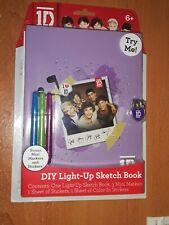 One Direction - 1D Diy Mini Light-Up Sketchbook - Purple - Lights Nonfunctional