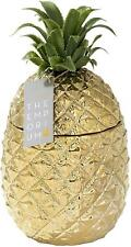 More details for gold pineapple ice bucket with lid premium addition to your drinks trolley new
