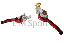 Super Mini Pocket Bike CNC Clutch & Brake Lever 110cc X15 X18 X19 X22 Red Parts
