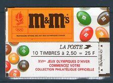 CARNET N° 2715-C 7 NEUF * * LUXE - PUBLICITE M&M'S - SANS N° DE CONFECTIONNEUSE