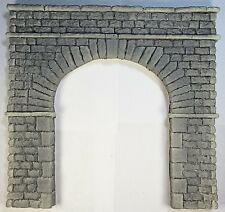 TUNNEL PORTAL SINGLE TRACK STONE BLK O SCALE CAST FOAM ATHERTON SCENICS (#6161)
