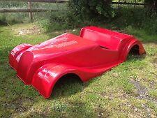 Morgan BAMBINO PEDALE AUTO fibra di vetro totrod Classic Auto Hotrod
