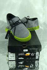 chaussure basket *SUPRA* CUBAN eu 45.5/us11.5/uk10.5 cuir gris NEUF 90€ Sacrifié
