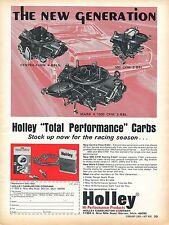 1969 Holley Performance Centra Flow, 500 CFM, & Mark II 1050 CFM Carburetor Ad