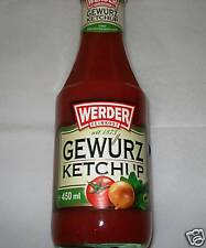 Werder Gewürzketchup 450ml