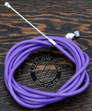 Purple Brake Cable Kit Housing Button Fixie Bicycle BMX MTB Cruiser Bike Brakes