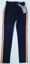THE LIMITED Tuxedo Jeans Dark Blue Stripe Denim Low Rise Curvy 917 Size 0 NEW