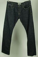 Jimmy Taverniti Men's Button Fly Dark Wash Jeans Tag Size 38 Measuring 39