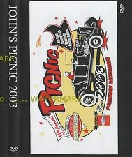 JOHNS 11th ROD & CUSTOM PICNIC 2003  DVD  customs street rat hot rod