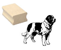 Motivstempel Hund « BERNHARDINER » Motiv Stempel Basteln Scrapbooking Schweiz