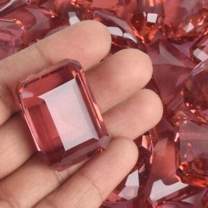 Alexandrite Gemstones Lot, Emerald Cut Color Change Alexandrite 500Ct./6 Pcs