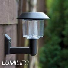 Modern Lantern Wall Light - Solar Powered
