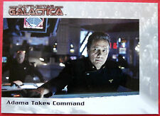 BATTLESTAR GALACTICA - Premiere Edition - Card #36 - Adama Takes Command