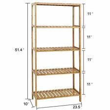 Bamboo Multi-level Rack Storage shoe racks bookshelf Plant Display Stand Rack