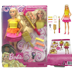 Barbie Locken-Style Puppe(blond),Anziehpuppe,Modepuppe,Mattel,Verpackungsschaden