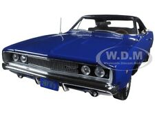 "1968 DODGE CHARGER BLUE ""CHRISTINE"" MOVIE 1/18 DIECAST MODEL AUTOWORLD AWSS111"