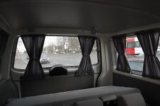 VW T5 & T6 MULTIVAN /TRANSPORTER Maß Gardinen Grau Nur für HECKKLAPPE PR82