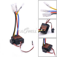 US Waterproof Brushed ESC 60A 3S Electronic Speed Controller For 1:10 RC Truck
