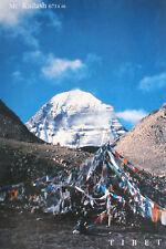 Tibetan Prayer Flags in Mount Kailash Postcard