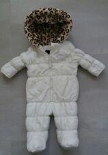 Baby girls Steve Madden heart pockets designer snowsuit 3-6 / 6-9 months