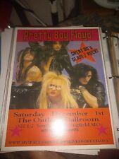 Pretty Boy Floyd * Rare Concert Flyer Mini Poster * Springfield, Mo 12/1/2008