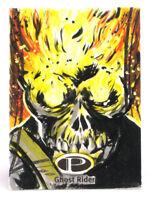 2014 Marvel Premier Ghost Rider Sketch Card Wayne Beeman Base UD Upper Deck 1/1