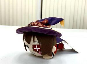Isekai Quartet Konosuba Vol.2 Nesoberi Anime Mini Plush Toy Doll Megumin SG8620