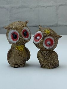 """Vintage Cute Owls Salt And Pepper Shaker Figurine Collectables Home Decor 3"""""""