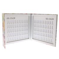 Nails Gel Polish Display Design Book Chart Card for Nail Art Salon 120 Color