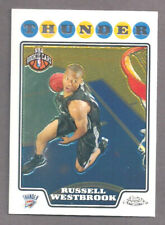 2008-09 Topps Chrome Russell Westbrook ROOKIE #184 Mint