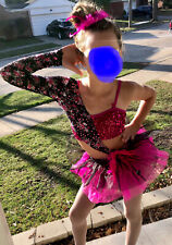 Custom Dance Competition Costume Ice Skating Costume Size 5-8