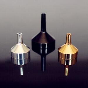 Mini Metal Filling Funnel For Perfume Atomiser Bottle Liquid Oils Transfer